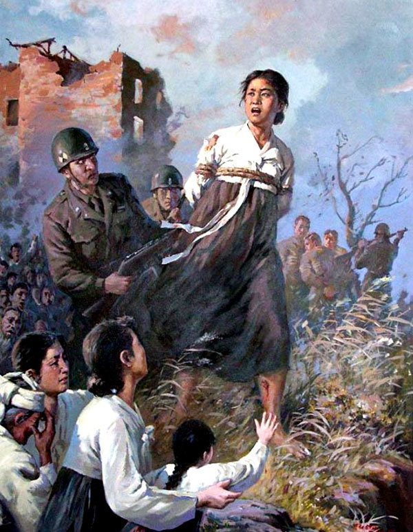 North Korean Propaganda Captive