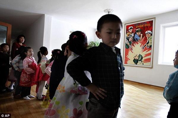 North Korean Propaganda Kindergarten