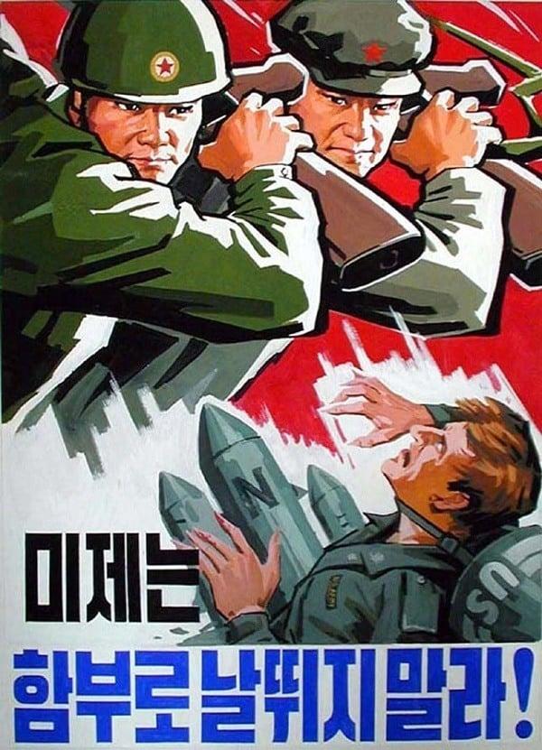 North Korean Propaganda Rifles
