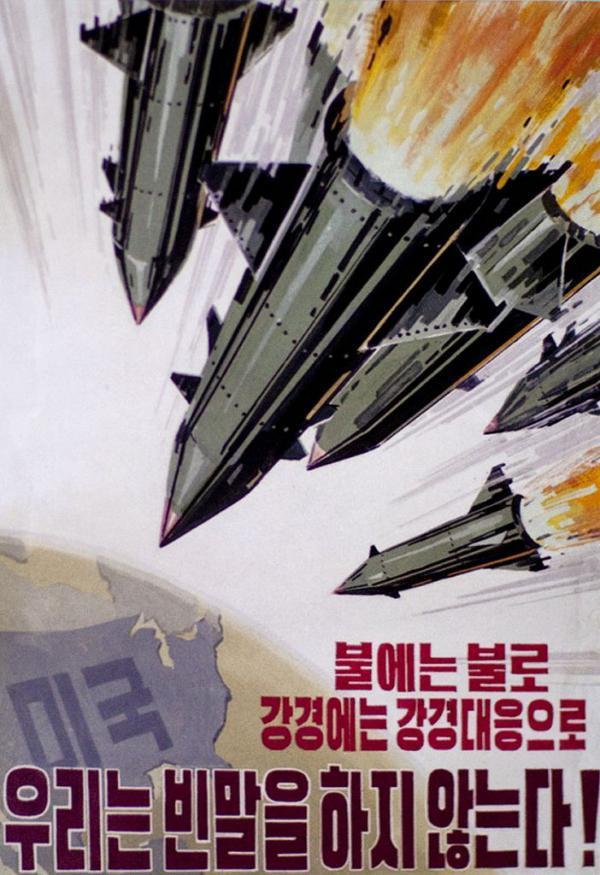 North Korean Propaganda Warheads