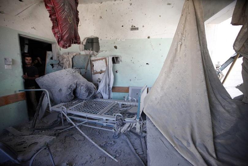 Occupied Palestine Al Aqsa Hospital