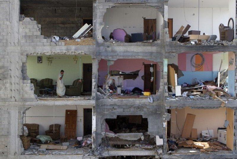 Occupied Palestine Building Rooms