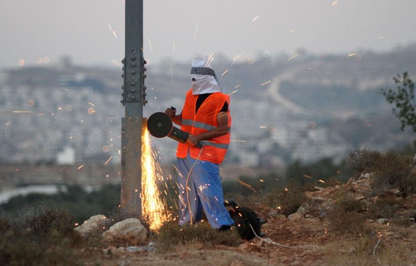 Occupied Palestine Cutting Power