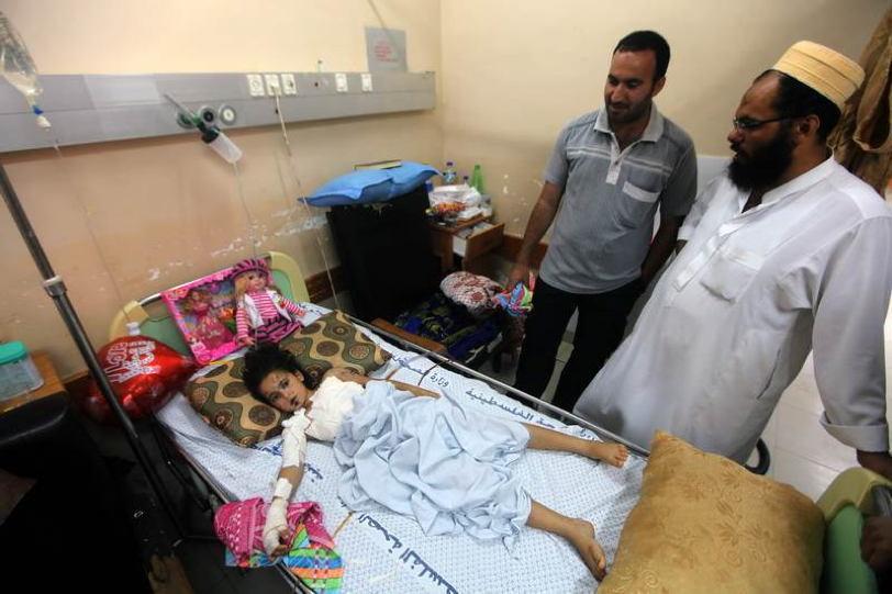 Occupied Palestine Girl Parents