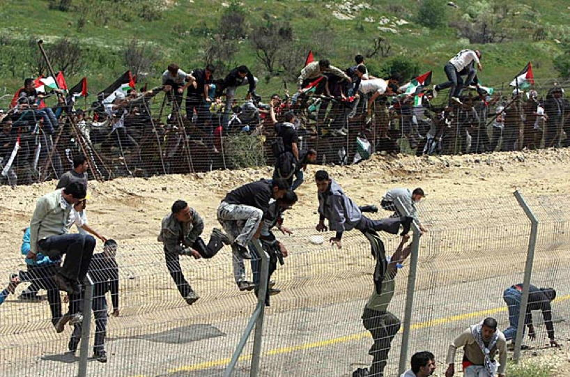Occupied Palestine Golan Heights Crossing