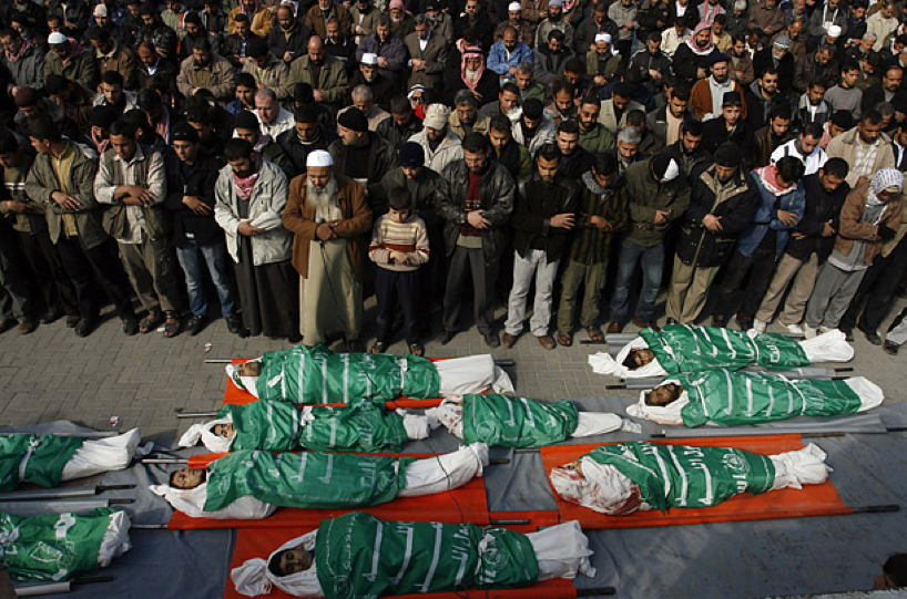 Occupied Palestine Hamas Bodies Beit Lahiya