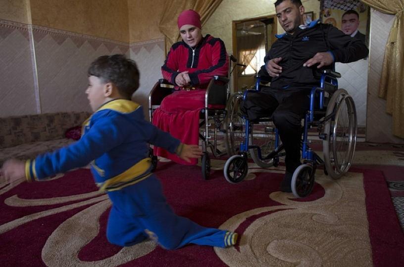 Occupied Palestine Lost Limbs