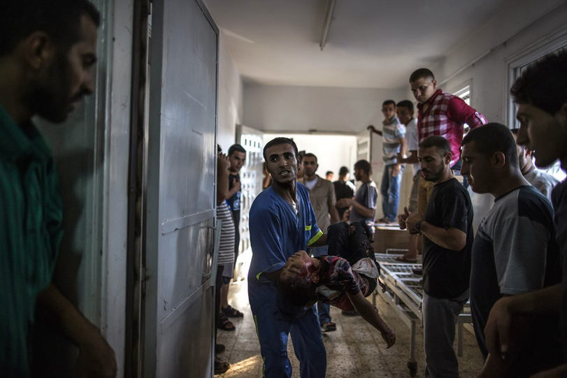 Occupied Palestine Medic Child