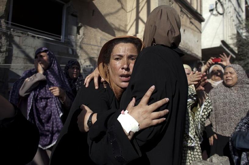 Occupied Palestine Mourning Women