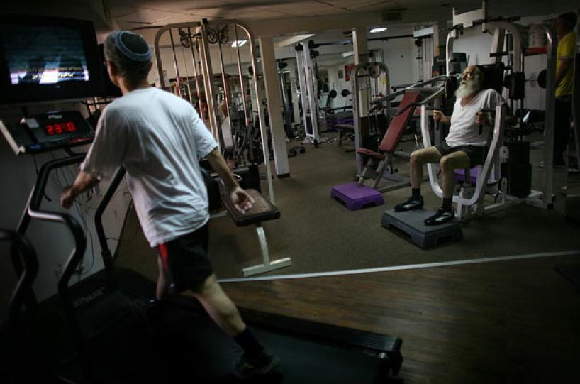 Occupied Palestine Settlement Gym