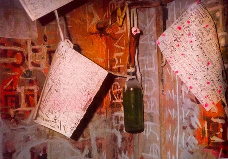 Oleg Mitasov Hanging Bottle