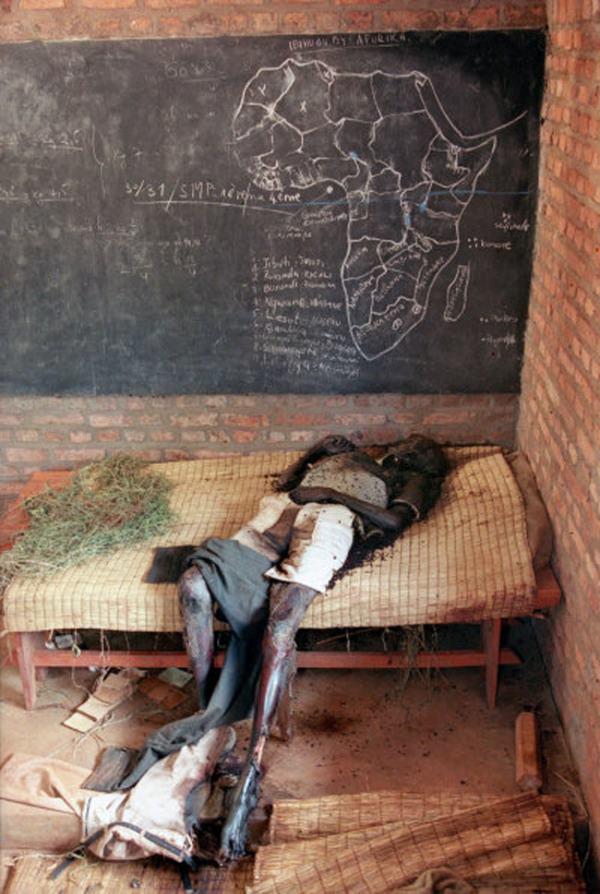 Only Human Wreckage Left In Rwanda