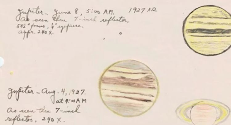 Clyde Tombaugh Drawing