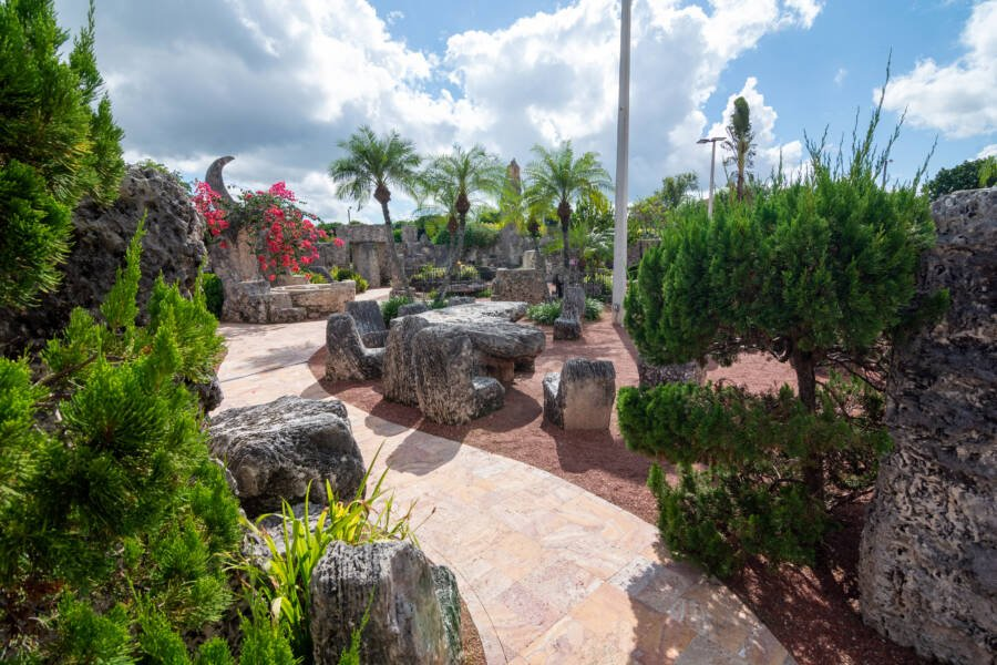 Pathway Coral Castle Grounds