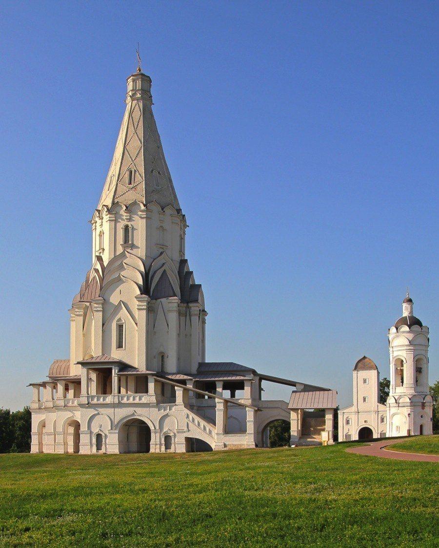 Russian Churches Ascension Kolomenskoye