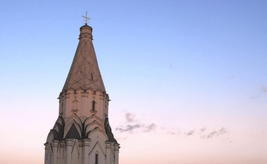 Russian Churches Kolomenskoye Sunset