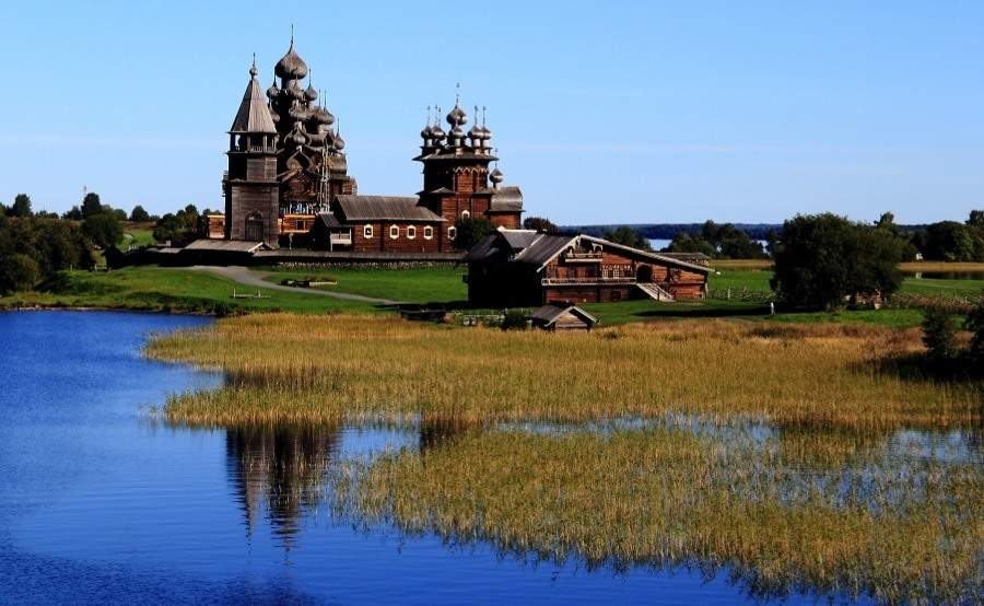 Russian Churches Lake Onego
