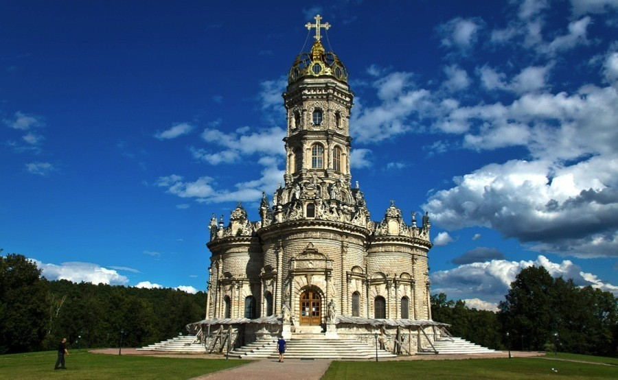Russian Churches Theotokos Dubrovitsky