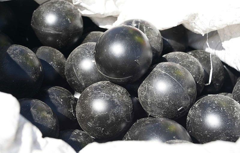 Shade Balls Close Up