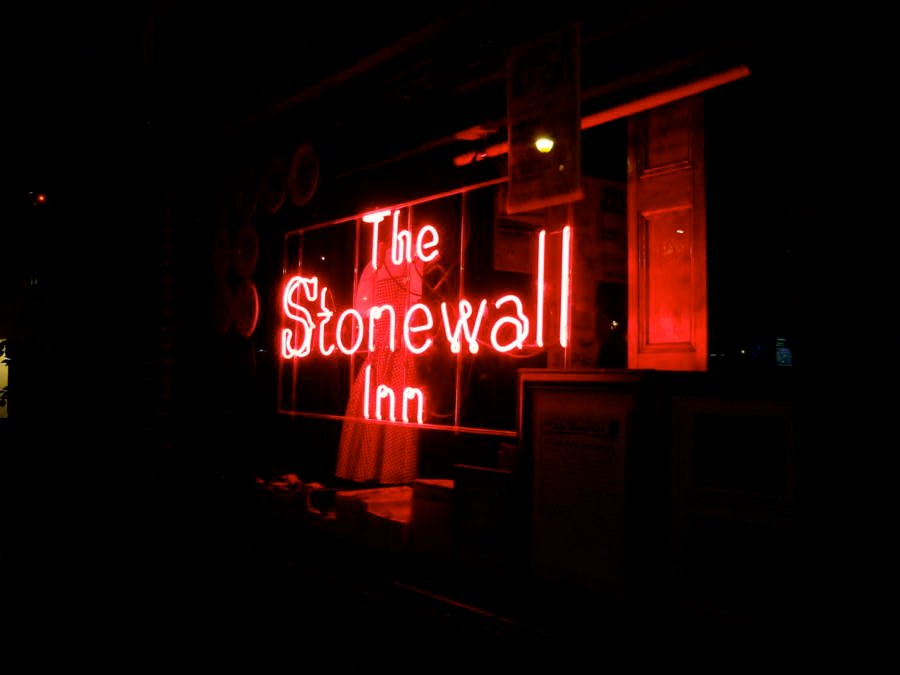 Stonewall Riots Sign