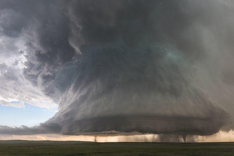Summer Weather 2015 Colorado Double Tornado