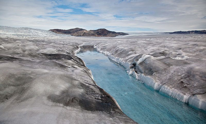 Summer Weather 2015 Greenland Ice Sheet
