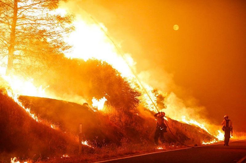 Summer Weather 2015 Northern California Wildfire