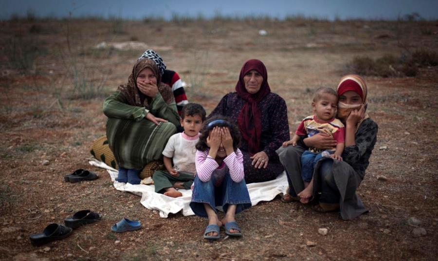 Syria War Displaced