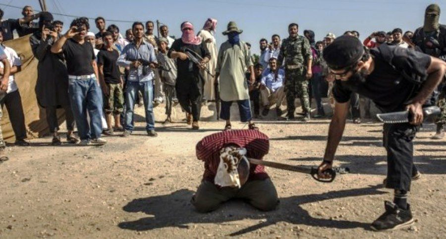 Syrian Civil War Isis Execution