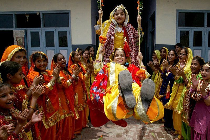 Teej Festival Pictures