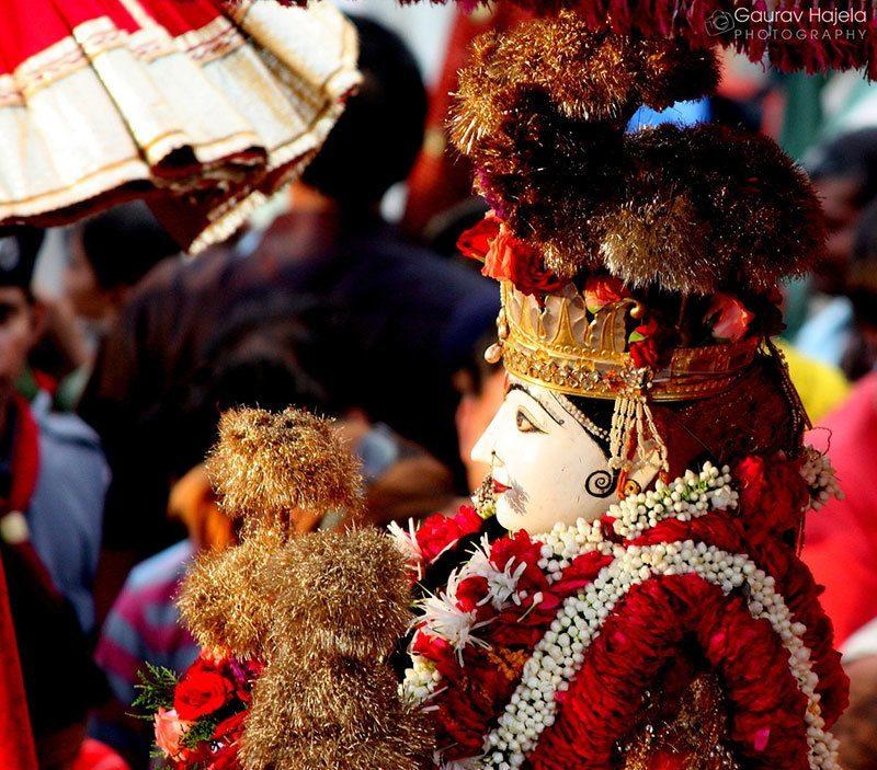 Teej Festival Goddess Parvati