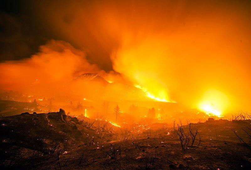 Terra Flamma Mountain Fire