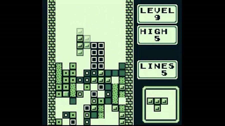 Tetris Black And White
