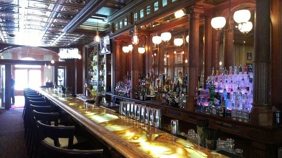 The Shining Hotel Bar