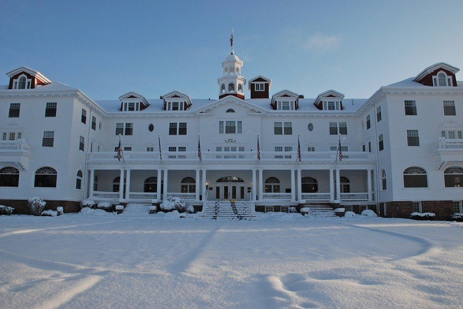 The Shining Hotel Snowy
