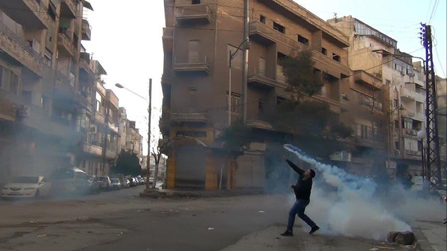 Throwing Back Tear Gas