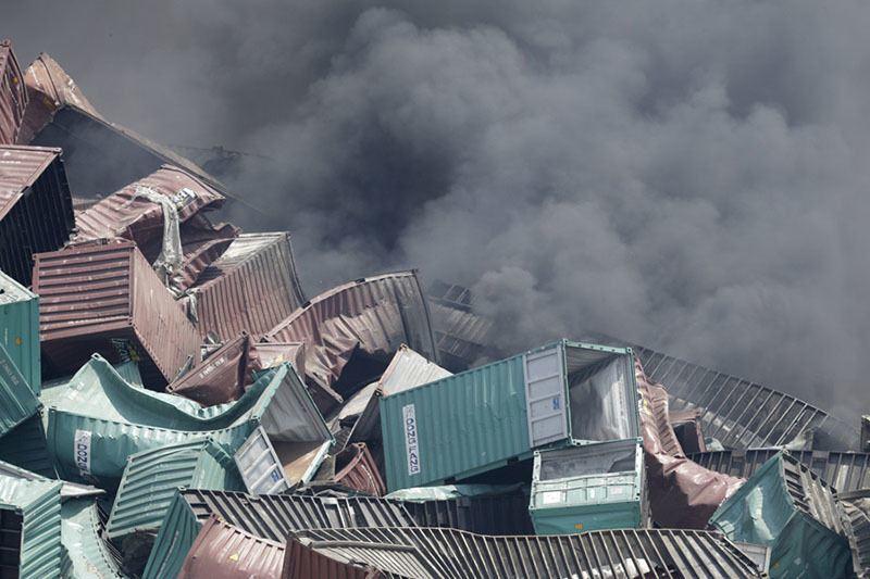 Tianjin Explosion Binahi