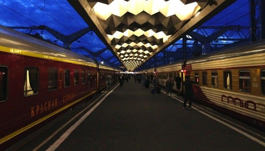 Transsiberian Railway Red Arrow