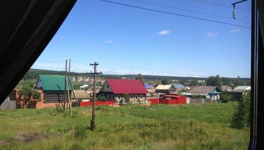 Trans-Siberian Railway Rural Russia