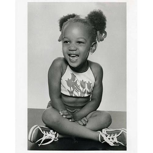 Tyra Banks As A Child