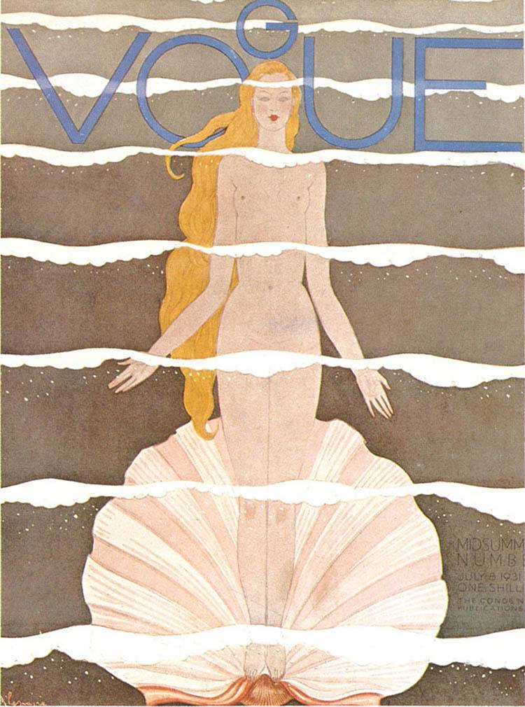 Vintage Vogue Covers Botticelli