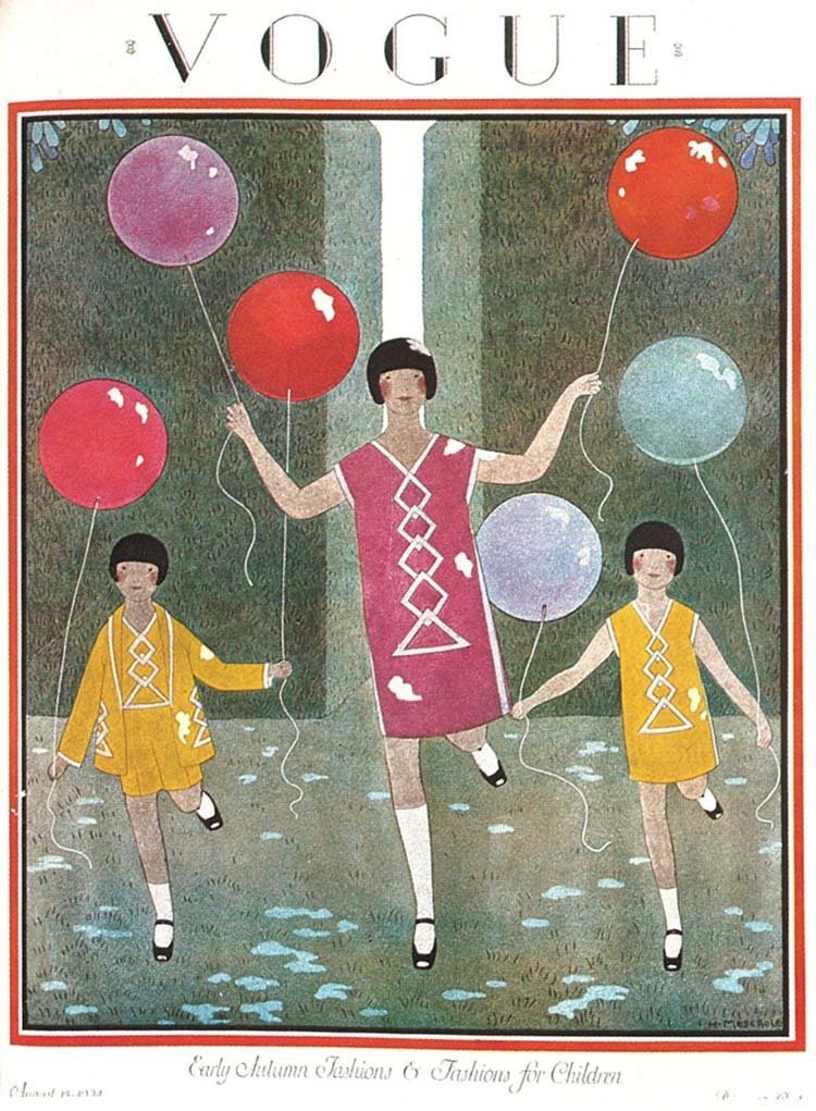 Vintage Vogue Covers Balloons