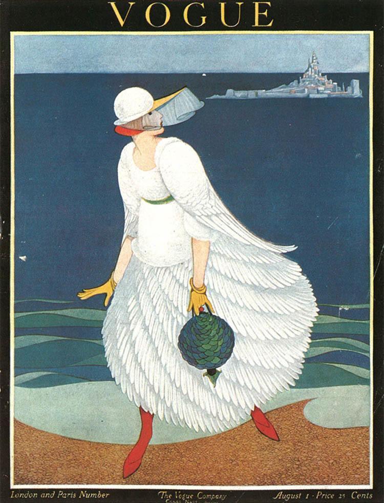 Vintage Vogue Covers Ocean