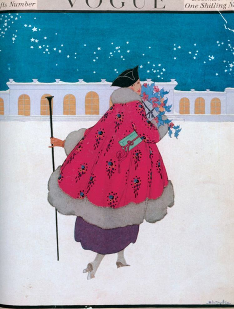 Vintage Vogue Covers Snow Flowers