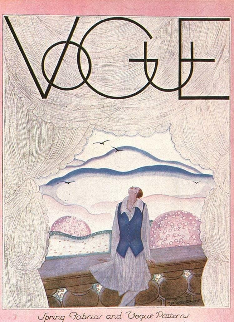 Vintage Vogue Covers Terrace