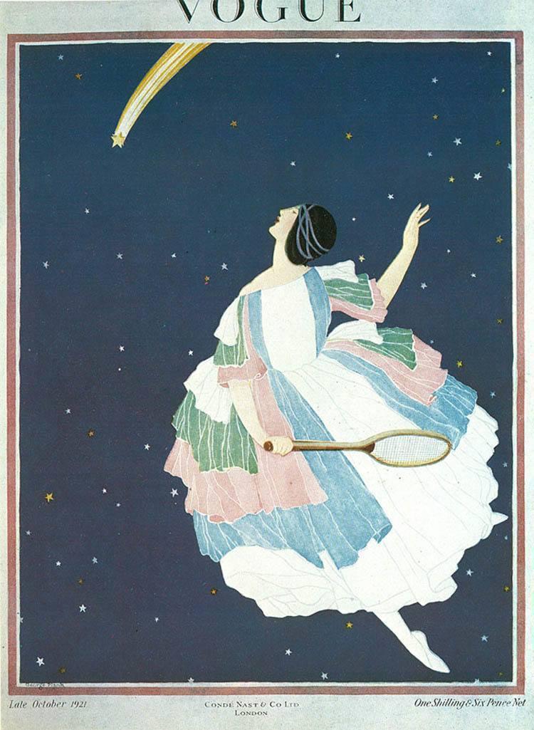 Vintage Vogue Night Sky