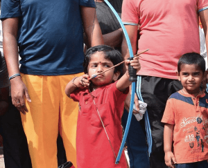 Photo Of The Day: Two-Year-Old Girl Breaks Archery Record