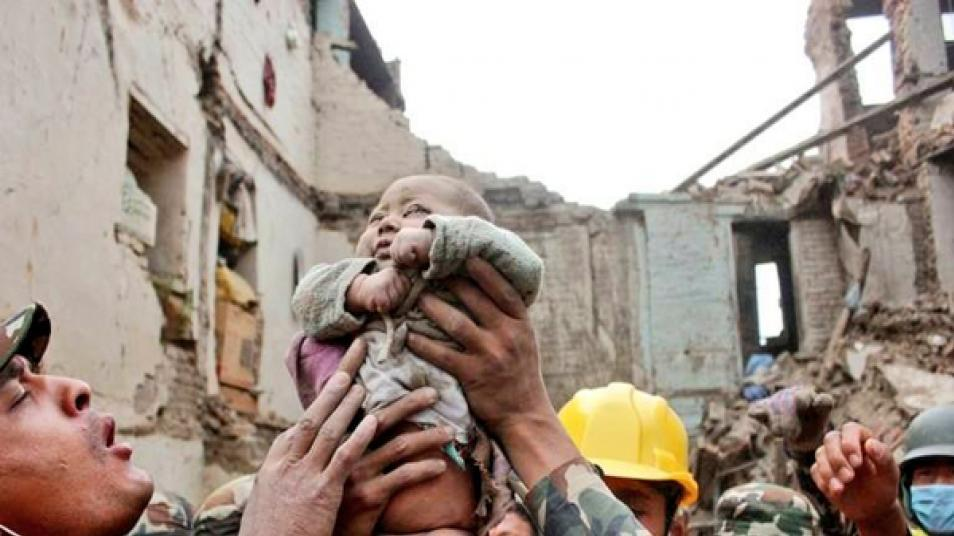 Baby Pulled From Nepal Earthquake