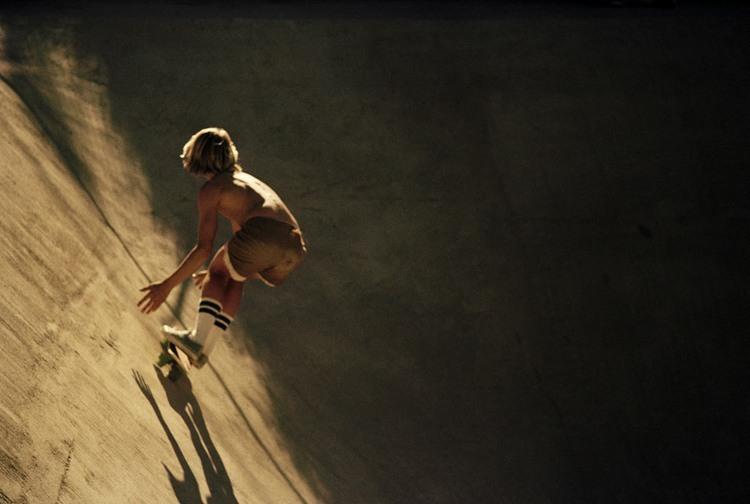 70s Skateboard Culture Canyon Sunset