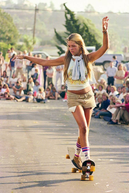 70s Skateboard Culture Del Mar Daffy